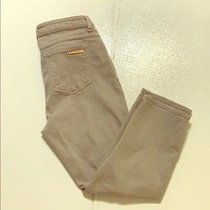 Michael Kors Gray Denim Crop Jeans Size 8